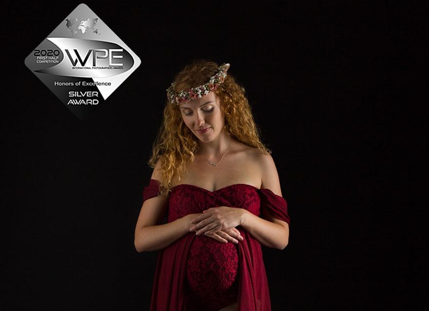 WPE Silver Award für unsere Babybauchfotografie